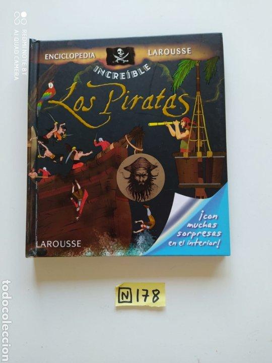 LOS PIRATAS ENCICLOPEDIA LAROUSSE (Libros de Segunda Mano - Enciclopedias)