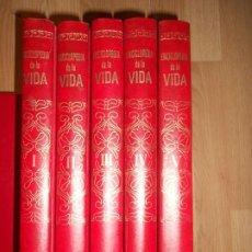 Enciclopedias de segunda mano: ENCICPLOPEDIA DE LA VIDA - 5 TOMOS / COMPLETA. Lote 220812893