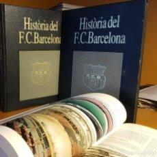 Enciclopedias de segunda mano: HISTÒRIA DEL F.C. BARCELONA 6 VOL.. Lote 220817685