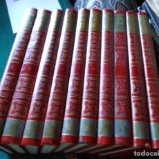Enciclopedias de segunda mano: ENCICLOPEDIA HISTORIA DEL ARTE SALVAT 10 TOMOS COMPLETA. Lote 221237078
