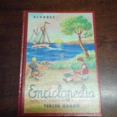 Enciclopedias de segunda mano: LIBRO ENCICLOPEDIA ALVAREZ DE TERCER GRADO. Lote 284077798