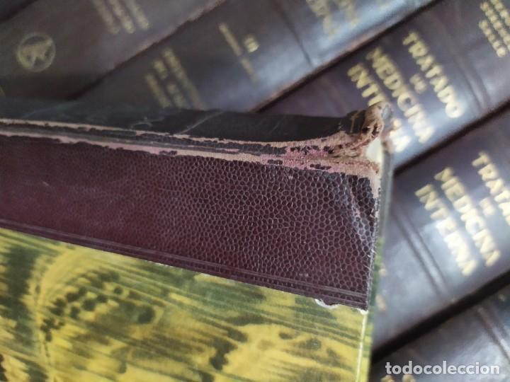 Enciclopedias de segunda mano: 1942. Lote 9 libros Tratado de medicina interna. Editorial Labor. - Foto 5 - 221499721
