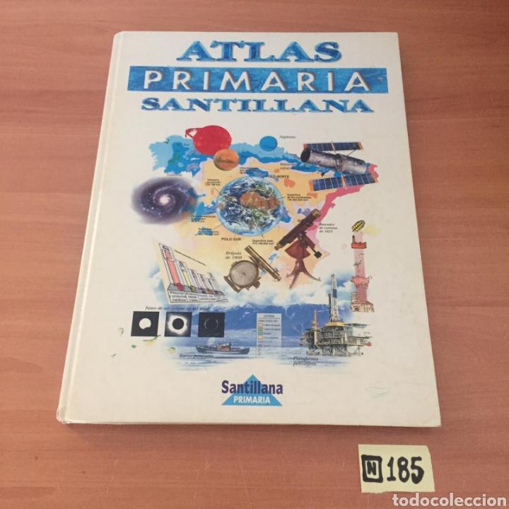 ATLAS PRIMARIA SANTILLANA (Libros de Segunda Mano - Enciclopedias)