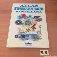Enciclopedias de segunda mano: ATLAS PRIMARIA SANTILLANA. Lote 221729850