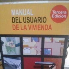 Enciclopedias de segunda mano: MANUAL DEL USUARIO DE LA VIVIENDA. Lote 221946555