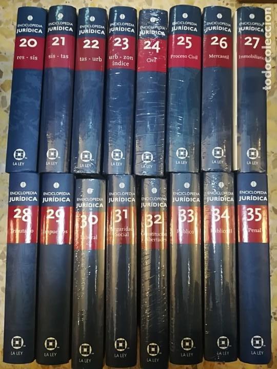 Enciclopedias de segunda mano: GRUPO WOLTERS KLUWER Enciclopedia juridica. 35 Tomos S1225AT - Foto 4 - 222121393