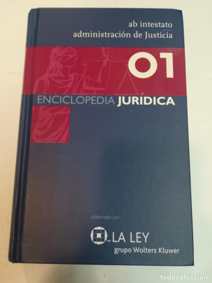 GRUPO WOLTERS KLUWER ENCICLOPEDIA JURIDICA. 35 TOMOS S1225AT (Libros de Segunda Mano - Enciclopedias)
