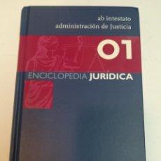 Enciclopedias de segunda mano: GRUPO WOLTERS KLUWER ENCICLOPEDIA JURIDICA. 35 TOMOS S1225AT. Lote 222121393