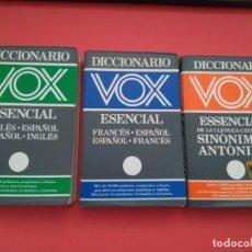 Enciclopedias de segunda mano: DICCIONARIOS VOX ESENCIAL. Lote 222314608