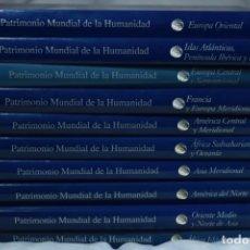Enciclopedias de segunda mano: ENCICLOPEDIA PATRIMONIO MUNDIAL DE LA HUMANIDAD - 10 TOMOS COMPLETOS - EDICIONES RUEDA - 2001. Lote 222467503