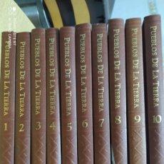 Enciclopedias de segunda mano: PUEBLOS DE LA TIERRA. 10 TOMOS. MIGUEL DE LA CUADRA SALCEDO. SALVAT. CARTONÉ. AÑO 1993. PESO 8 KG.. Lote 222593177