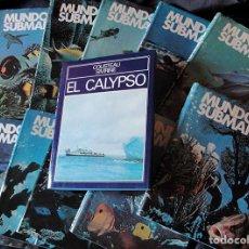 Enciclopedias de segunda mano: ENCICLOPEDIA MUNDO SUBMARINO + EL CALYPSO - JACQUES COUSTEAU -. Lote 222606343