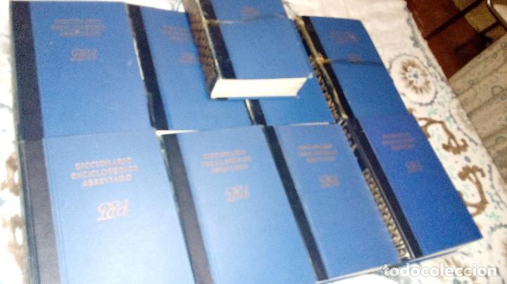 Enciclopedias de segunda mano: DICCIONARIO ENCICLOPÉDICO ABREVIADO, ENCICLOPEDIA ESPASA CALPE, COMPLETA, NUEVE VOLÚMENES - Foto 2 - 222608043