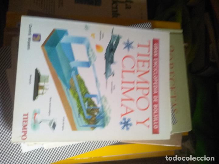 TIEMPO Y CLIMA - GRAN ENCICLOPEDIA DE BOLSILLO - TIEMPO 1997. (Libros de Segunda Mano - Enciclopedias)