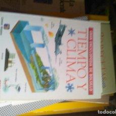 Enciclopedias de segunda mano: TIEMPO Y CLIMA - GRAN ENCICLOPEDIA DE BOLSILLO - TIEMPO 1997.. Lote 222640058