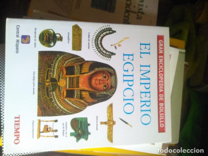 EL IMPERIO EGIPCIO - GRAN ENCICLOPEDIA DE BOLSILLO (Libros de Segunda Mano - Enciclopedias)