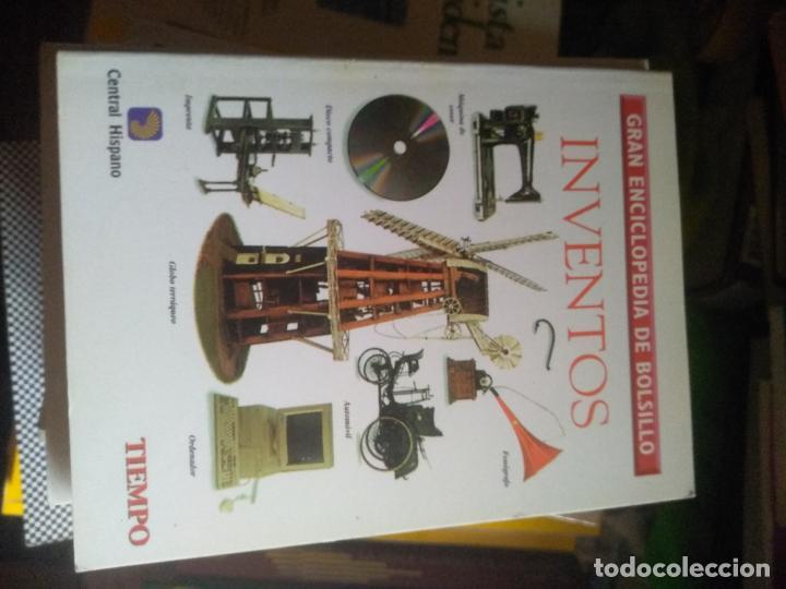 INVENTOS - ENCICLOPEDIA DE BOLSILLO (Libros de Segunda Mano - Enciclopedias)