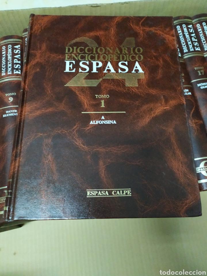 Enciclopedias de segunda mano: Diccionario Enciclopédico Ilustrado Espasa Calpe 24 tomos completo - Foto 2 - 222645691