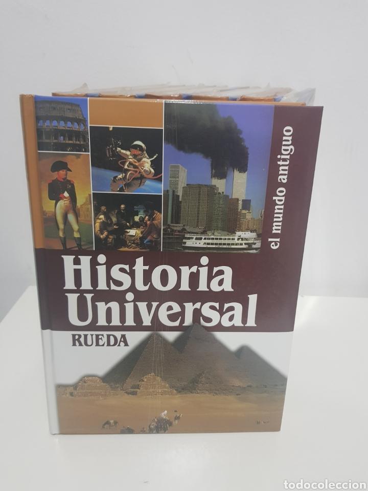 Enciclopedias de segunda mano: Enciclopedia Rueda, Historia universal, 6 tomos - Foto 2 - 222682355