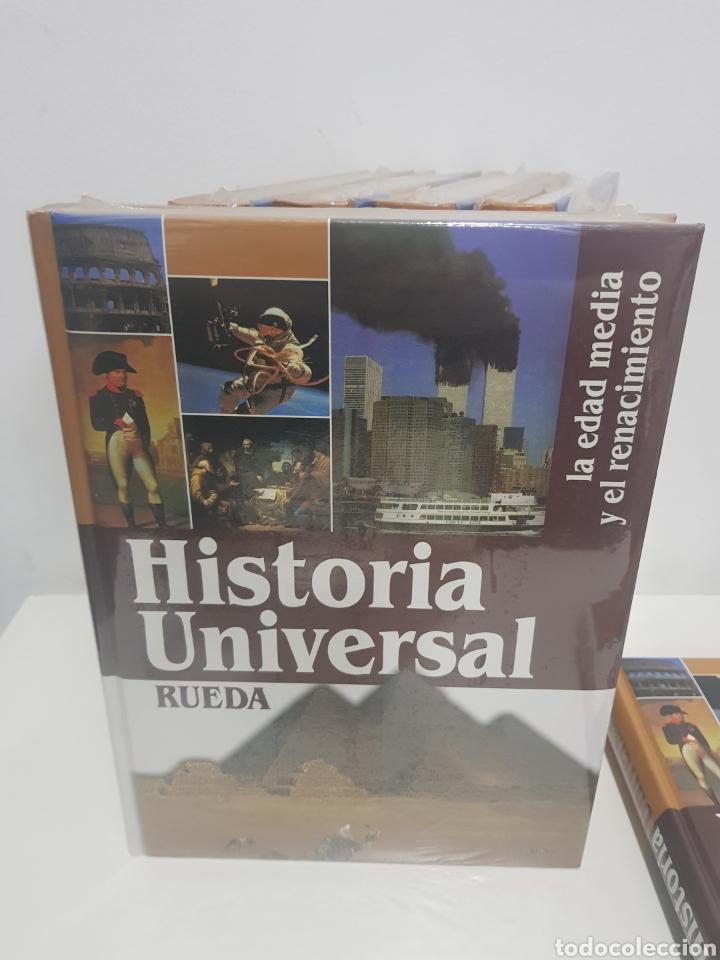Enciclopedias de segunda mano: Enciclopedia Rueda, Historia universal, 6 tomos - Foto 3 - 222682355