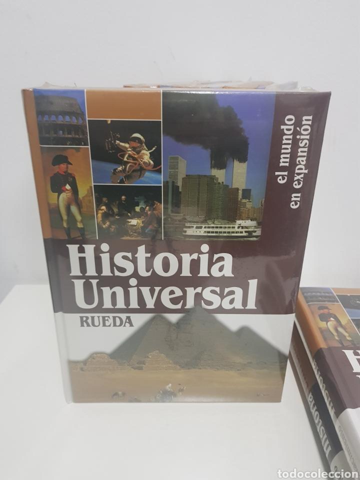 Enciclopedias de segunda mano: Enciclopedia Rueda, Historia universal, 6 tomos - Foto 4 - 222682355