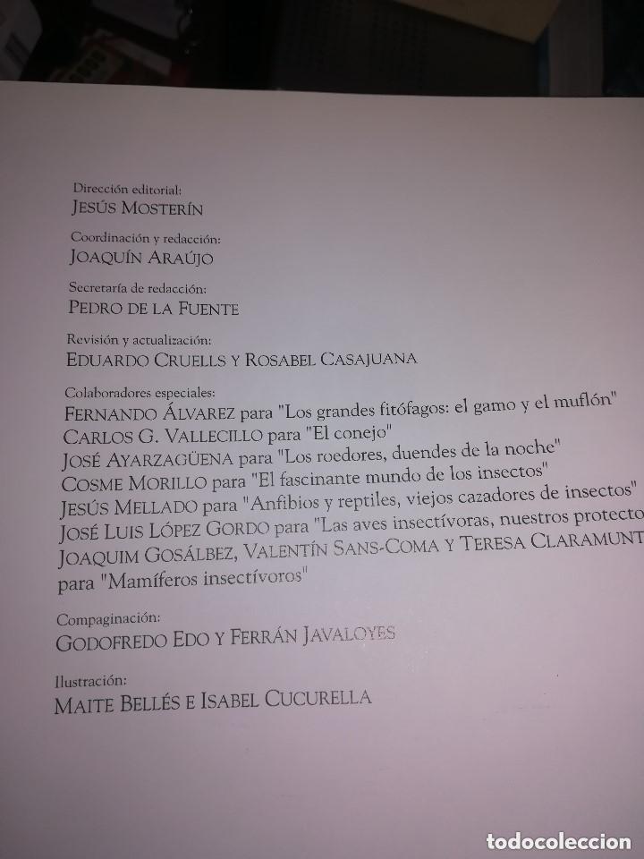 Enciclopedias de segunda mano: FAUNA IBÉRICA Y EUROPEA 10 VOLÚMENES NUMERADA 1992 FÉLIX RODRÍGUEZ DE LA FUENTE ED. SALVAT - Foto 4 - 222705613