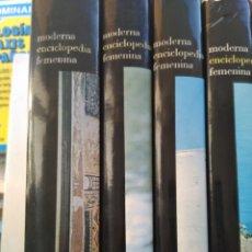 Enciclopedias de segunda mano: MODERNA ENCICLOPEDIA FEMENINA. Lote 222877538
