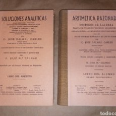 Enciclopedias de segunda mano: LOTE MATEMÁTICAS DALMAU. Lote 237152785