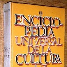 Enciclopedias de segunda mano: ENCICLOPEDIA UNIVERSAL DE LA CULTURA A-Z POR J. MAS GODAYOL Y OTROS DE EL MUNDO EN BARCELONA 1996. Lote 262674865