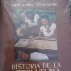 Enciclopedias de segunda mano: HISTORIA DE LA LITERATURA UNIVERSAL TOMO 4 (NUEVO)- MARTÍN DE RIQUER; J. M. VALVERDE. Lote 223490197