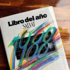 Enciclopedias de segunda mano: ENCICLOPEDIA LIBRO DEL AÑO SALVAT 1988. Lote 223548616