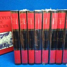 Livros em segunda mão: COLECCIÓN COMPLETA ENCICLOPEDIA DE EUROPA, EDITORIAL PLANETA, 10 TOMOS. Lote 223898606