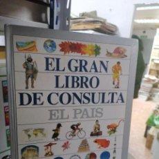 Enciclopedias de segunda mano: EL GRAN LIBRO DE CONSULTA. EL PAÍS.. Lote 223914853