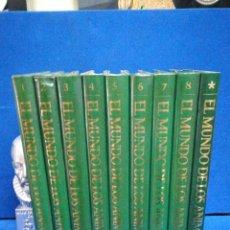 Livros em segunda mão: EL MUNDO DE LOS ANIMALES, EDITORIAL PLANETA, 9 TOMOS, COMPLETA.. Lote 223922287