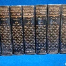 Livros em segunda mão: DICCIONARIO ENCICLOPÉDICO ABREVIADO, ESPASA CALPE S.A., 9 TOMOS PLASTIFICADOS.. Lote 223983376
