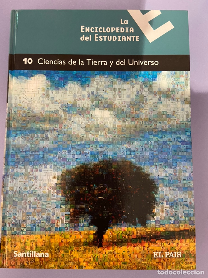 LA ENCICLOPEDIA DEL ESTUDIANTE. TOMO 10: CIENCIAS DE LA TIERRA Y DEL UNIVERSO. EDICION SANTILLANA. (Libros de Segunda Mano - Enciclopedias)