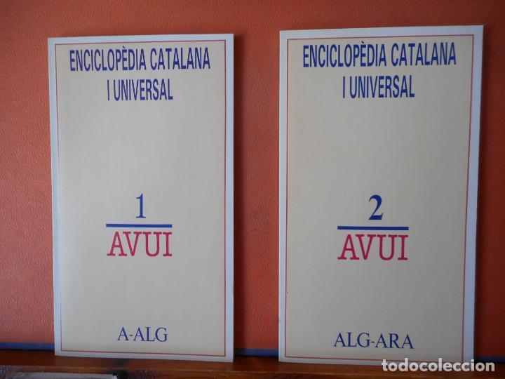 Enciclopedias de segunda mano: ENCICLOPEDIA CATALA UNIVERSAL AVUI. - Foto 2 - 224043726