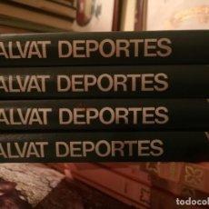 Enciclopedias de segunda mano: 4 TOMOS ENCICLOPEDIA SALVAT DE LOS DEPORTES. 4 TOMOS. Lote 224118197
