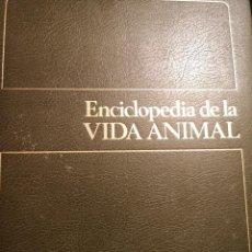 Enciclopedias de segunda mano: 6 ENCICLOPEDIA DE LA VIDA ANIMAL. EDICIONES BRUGUERA. 6 TOMOS. Lote 224119488