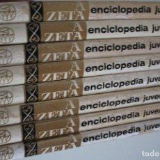 Enciclopedias de segunda mano: ENCICLOPEDIA JUVENIL A ZETA 8 TOMOS. Lote 224213121