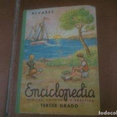 Livros em segunda mão: ENCICLOPEDIA ALVAREZ INTUITIVA SINTÉTICA PRÁCTICA 1966 TERCER GRADO. Lote 224423008