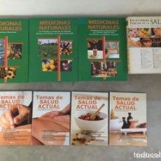 Enciclopedias de segunda mano: LOTE 3 ENCICLOPEDIAS DE SALUD NATURAL. Lote 224499317