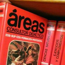 """Enciclopedias de segunda mano: ENCICLOPEDIA """"ÁREAS: CONSULTOR DIDÁCTICO"""" CREDSA. 1988 (OCHO TOMOS). Lote 224988770"""