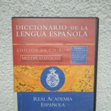Enciclopedias de segunda mano: DICCIONARIO DE LA LENGUA ESPAÑOLA. EDICIÓN CD-ROM. ESPASA. Lote 225495465