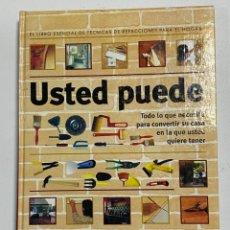 Enciclopedias de segunda mano: USTED PUEDE. TECNICAS REFACCIONES PARA EL HOGAR. VISOR ENCICLOPEDIAS. ARGENTINA, 2000. PAGS: 319. Lote 227007027
