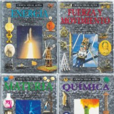 Enciclopedias de segunda mano: 4 LIBROS DE CIENCIAS. BIBLIOTECA VISUAL ALTEA. 2.000 PRECISAS ILUSTRACIONES DIVULGACIÓN DE RIGOR.. Lote 228870280