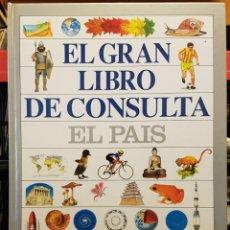 Enciclopedias de segunda mano: EL GRAN LIBRO DE CONSULTA EL PAIS. Lote 229012090