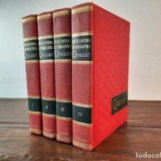 Enciclopedias de segunda mano: ENCICLOPEDIA AUTODIDACTICA QUILLET, COMPLETA 4 TOMOS - 1972, MEXICO. Lote 229239300