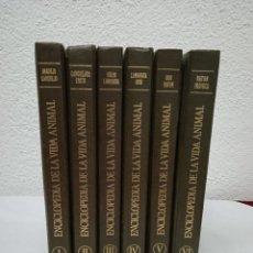 Enciclopedias de segunda mano: ENCICLOPEDIA DE LA VIDA ANIMAL. EDITORIAL BRUGUERA. 6 TOMOS. AÑO 1974. Lote 229298380
