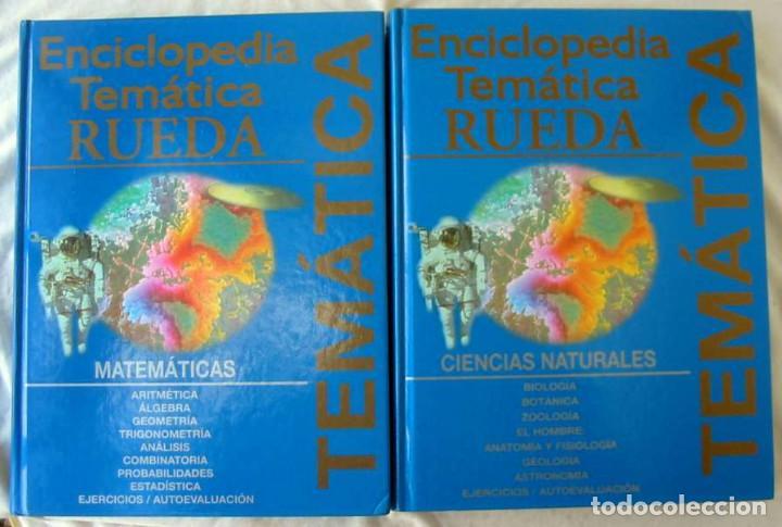 Enciclopedias de segunda mano: ENCICLOPEDIA TEMÁTICA RUEDA - COMPLETA - ED. NAUTA 2003 - VER DESCRIPCIÓN Y FOTOS - Foto 2 - 229586905